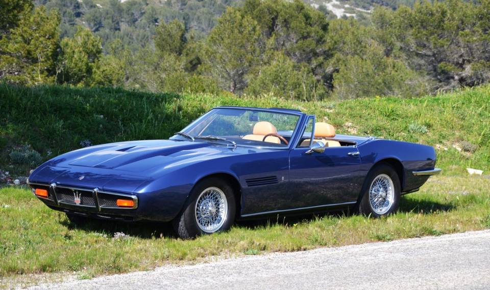 for sale 1970 maserati ghibli spyder 4 7l. Black Bedroom Furniture Sets. Home Design Ideas