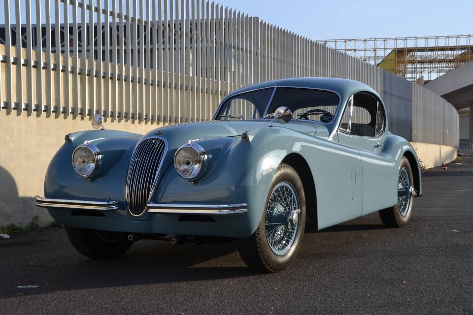 for sale 1953 jaguar xk 120 fhc. Black Bedroom Furniture Sets. Home Design Ideas