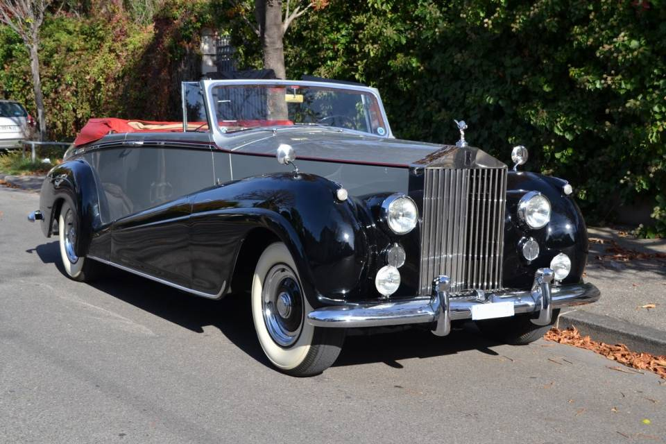 for sale 1956 rolls royce silver wraith dhc park ward. Black Bedroom Furniture Sets. Home Design Ideas