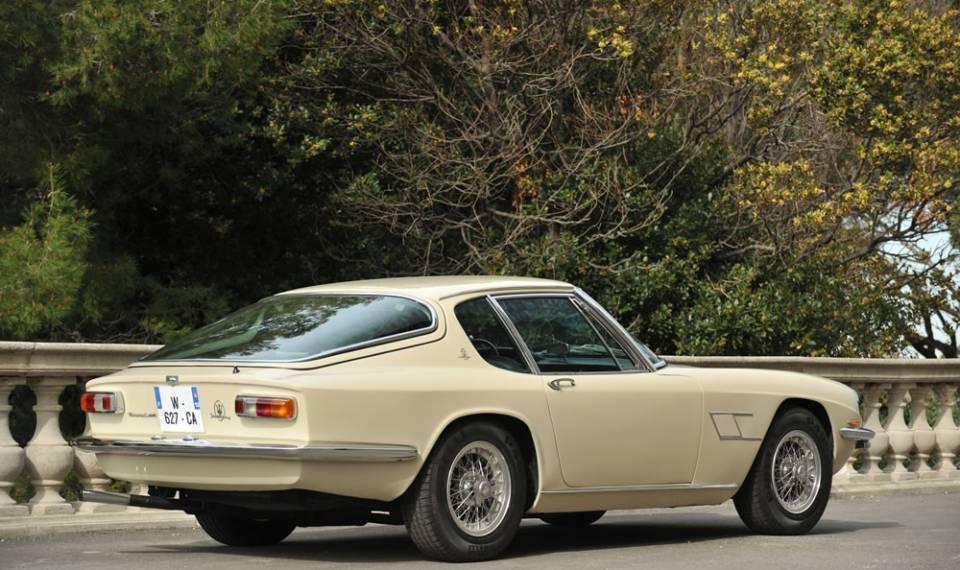 1967 MASERATI Mistral 4000 Coupe