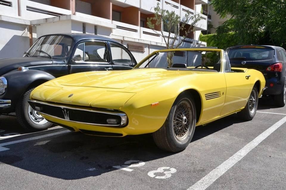 1969 MASERATI Ghibli Spyder 4900 SS